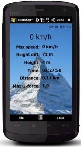 Windows Mobile Skiers App