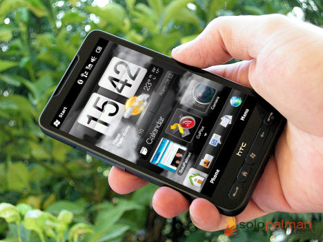 HTC HD2 : test GPS, camera, wireless.