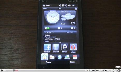 Co0kie's Home Tab Mod per HTC Sense