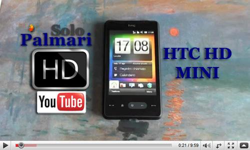 HTC HD Mini videorecensione