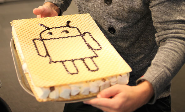 Ice Cream Sandwich per smartphone Sony