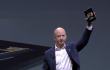 Jeff Bezos nel momento in cui presenta Kindle Fire HD