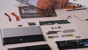 Sontaggio del Sony Tablet S