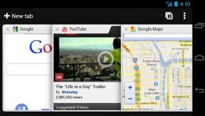 Chrome in versione per Android