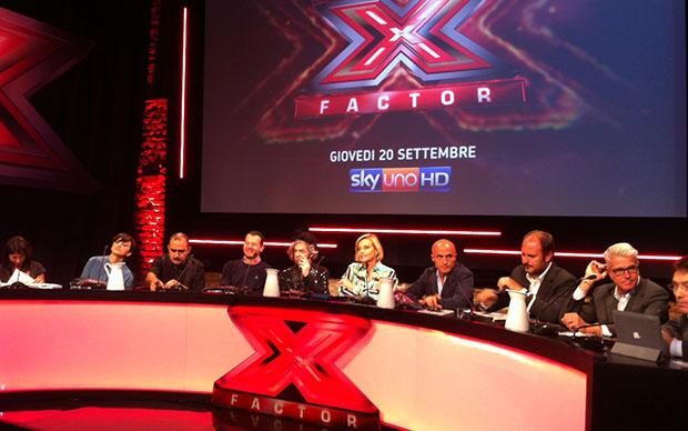 Conferenza stampa di X Factor 2012