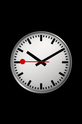 Apple copia in ios 6 l 39 orologio delle ferrovie svizzere solopalmarisolopalmari - Swiss railway wall clock ...