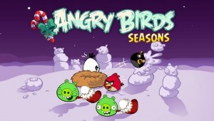 Schermata di Angry Birds Seasons