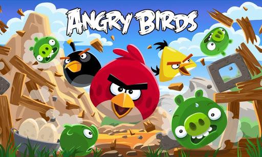 Schermata di Angry Birds