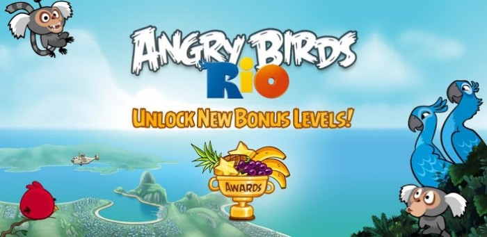 Angry Birds Rio upgrade