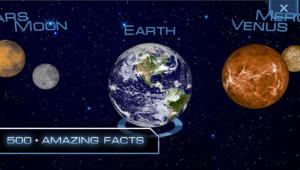 Schermata di Space Discovery