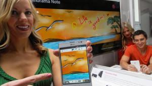 Presentazione di Panorama Note per Optimus Vu II