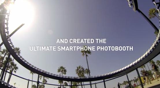 HTC One a formare una mega cabina fotografica