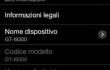 Schermata di Android 4.3 su Galaxy S3 italiano