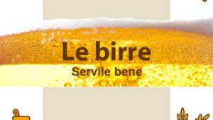 Screenshot della app Le Birre