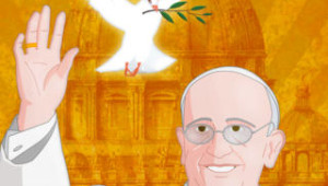 Screenshot della app Papa Francesco per iPhone