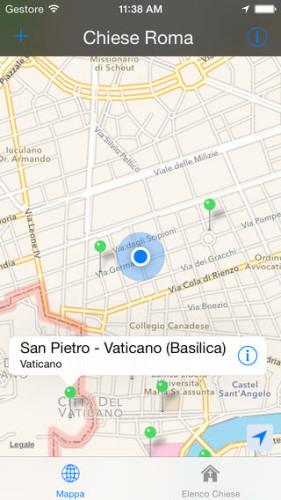 Screenshot di Chiese di Roma